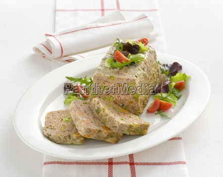 polpettone con verdure meatloaf with vegetables