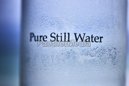 condensation on a glass with the