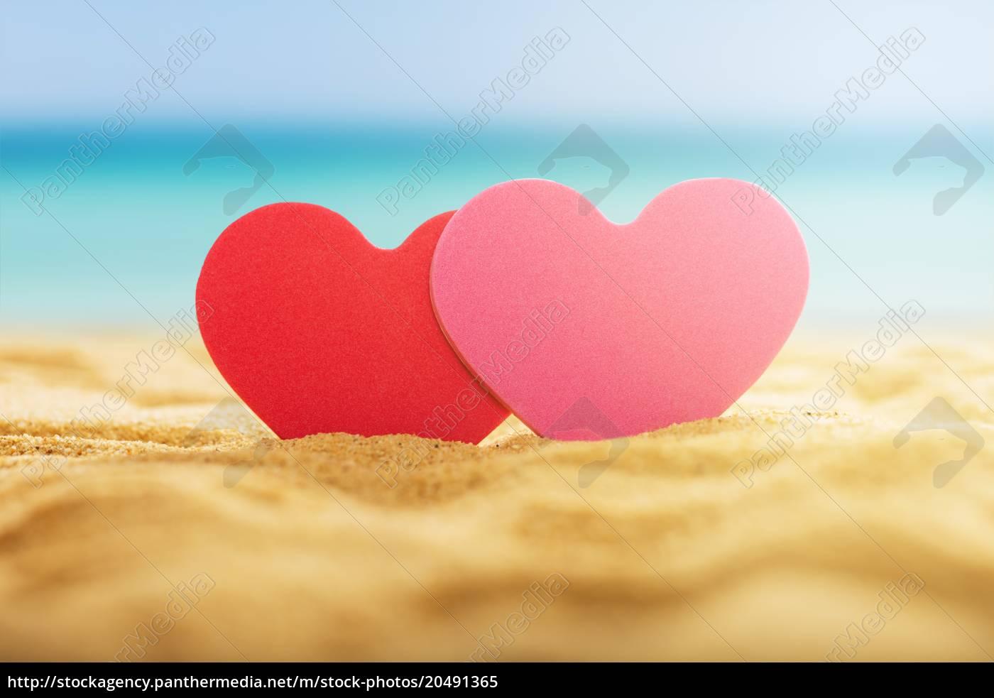 Heart On A Beach