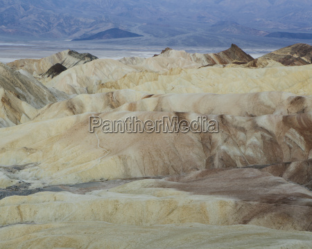 zabriskie point at dawn death valley