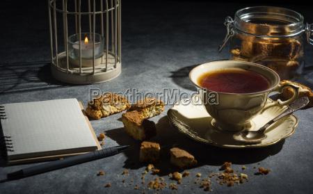 cup of tea almond cookies