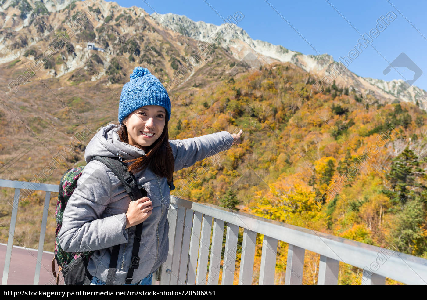 woman, travel, to, tateyama, in, japan - 20506851