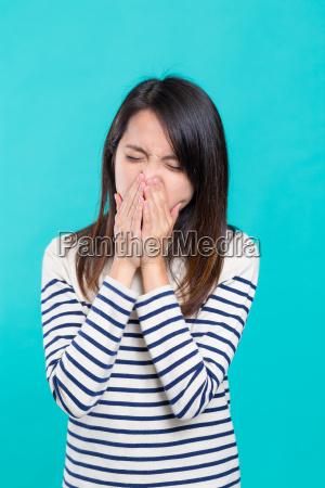 woman, feeling, unwell - 20507023