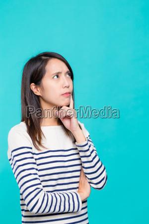 woman, looking, away - 20507013