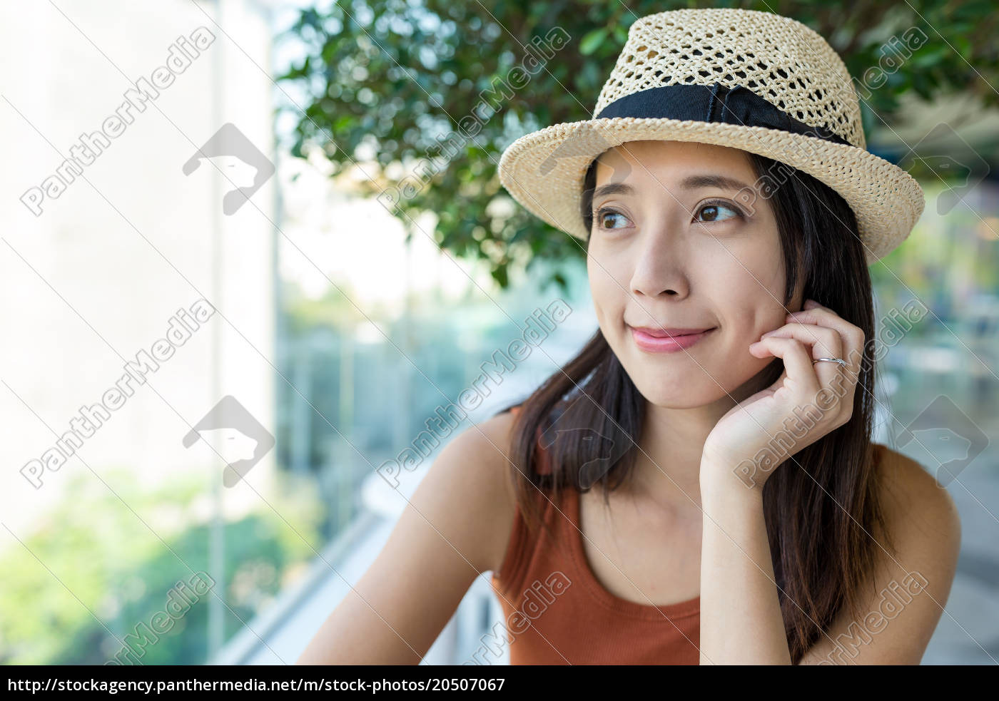 woman, looking, out, of, the, window - 20507067