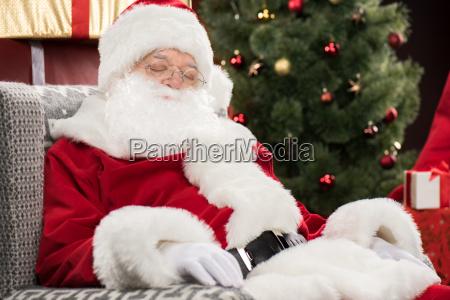 santa, claus, sleeping - 20508339