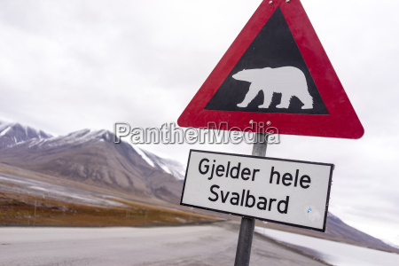 signpost warning drivers to beware of