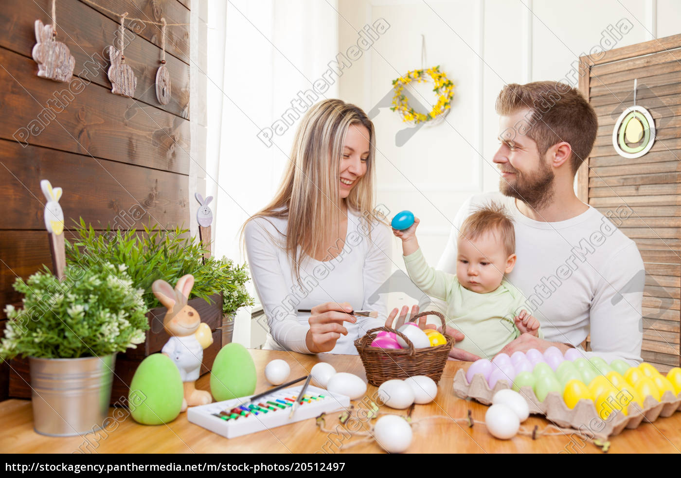 easter, concept., happy, mother, and, father - 20512497
