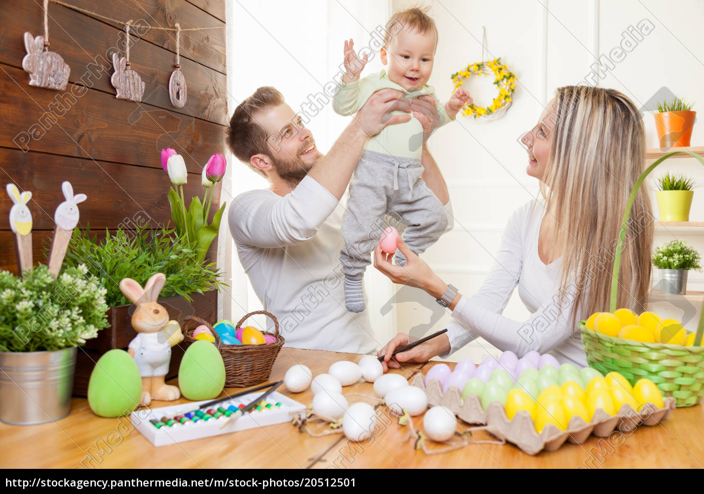 easter, concept., happy, mother, and, father - 20512501