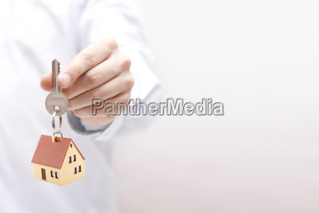 house, key, in, hand, - 20512191