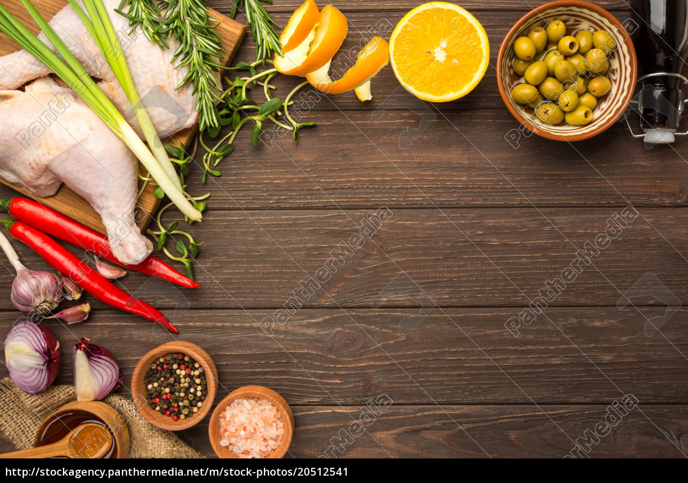 prepared, for, cooking, chicken, legs., flat - 20512541