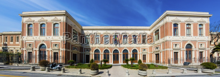 italy sicily messina view to university