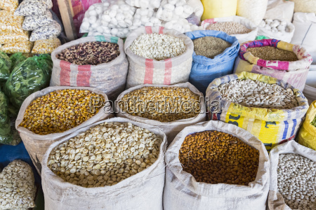 peru cusco market mercado central de