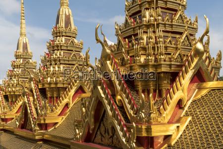thailand bangkok chedi of wat ratchanatdaram