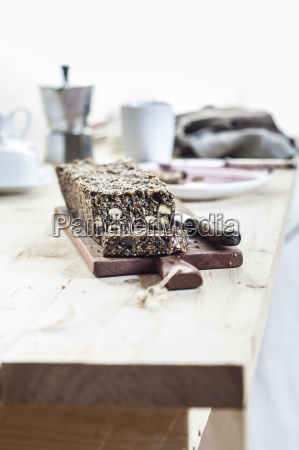 home baked wholemeal gluten ree bread