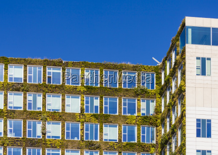 netherlands amsterdam office building with acade