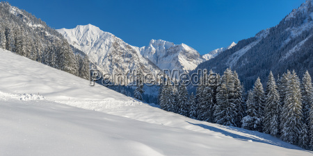 germany bavaria oy valley in winter