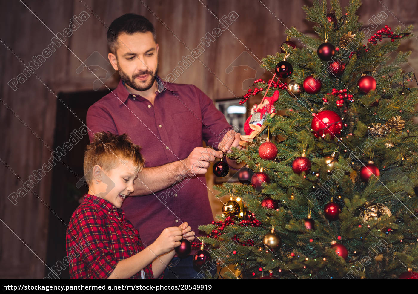 little, son, with, happy, father - 20549919