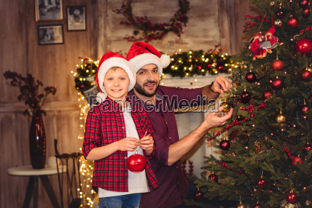 little, son, with, happy, father - 20549925