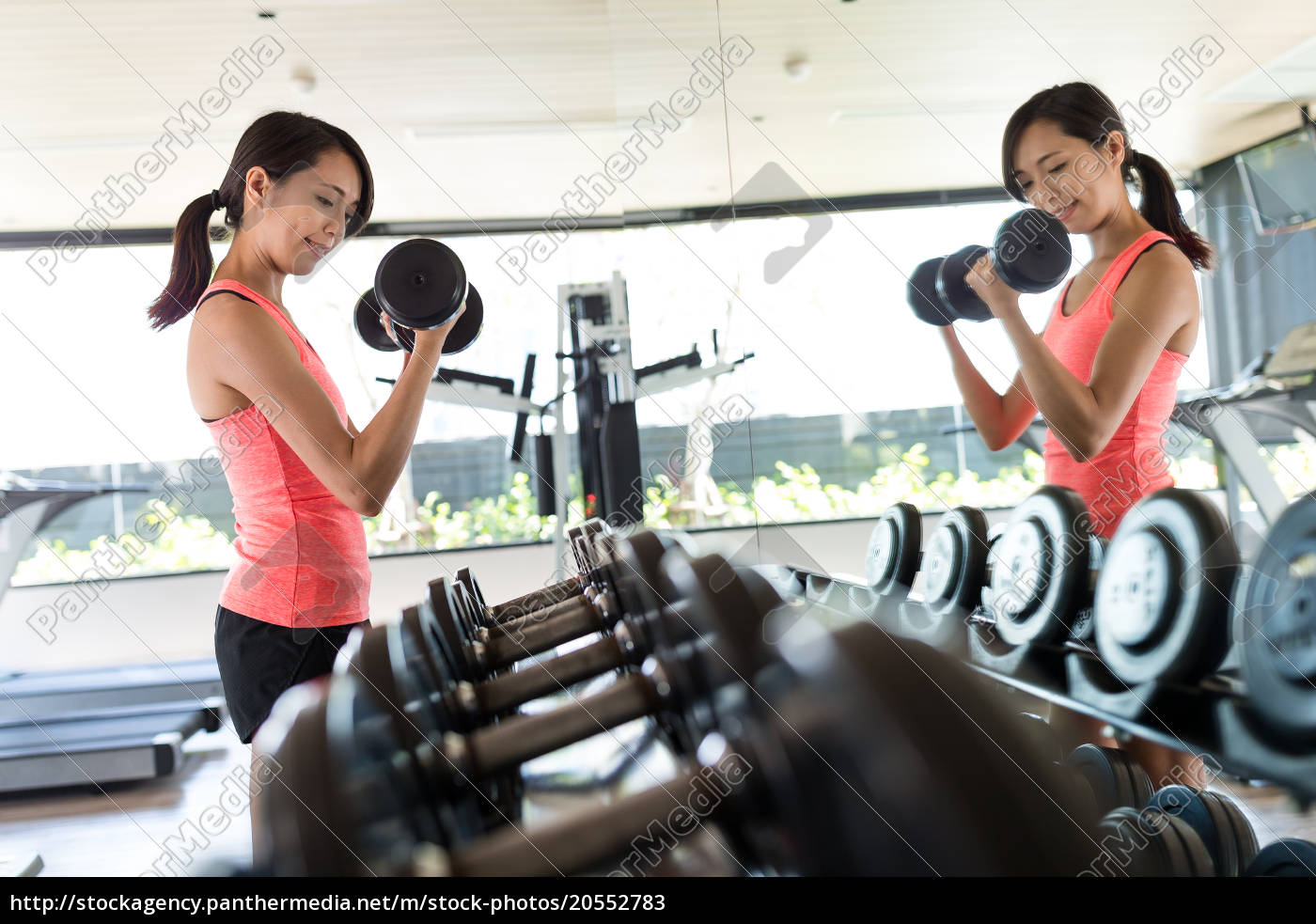 fitness, woman, in, training - 20552783