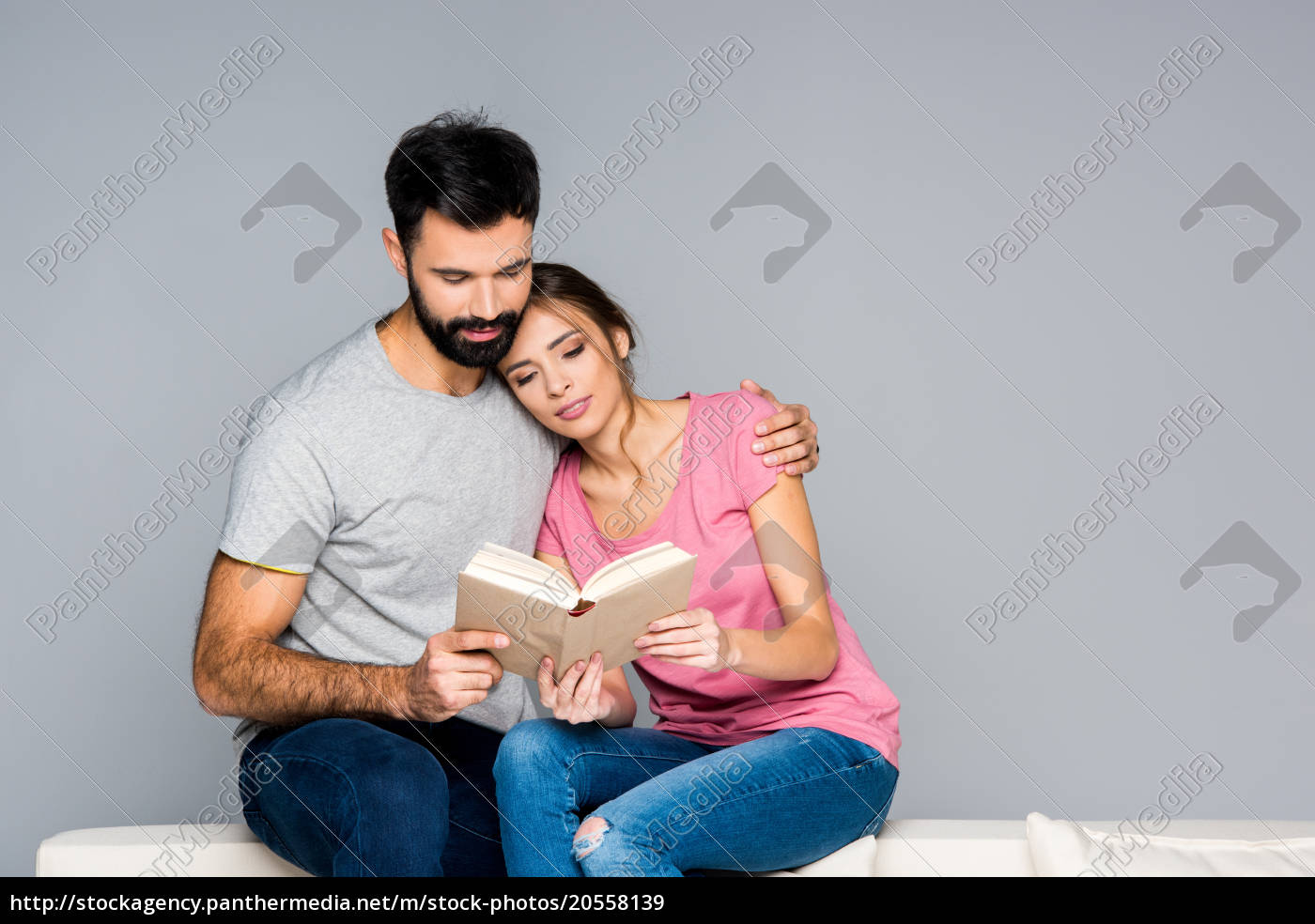 couple, reading, book - 20558139