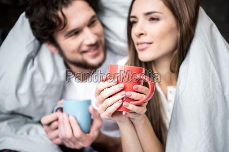 couple, drinking, tea - 20559171