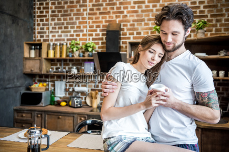 couple, holding, coffee, cup - 20559137