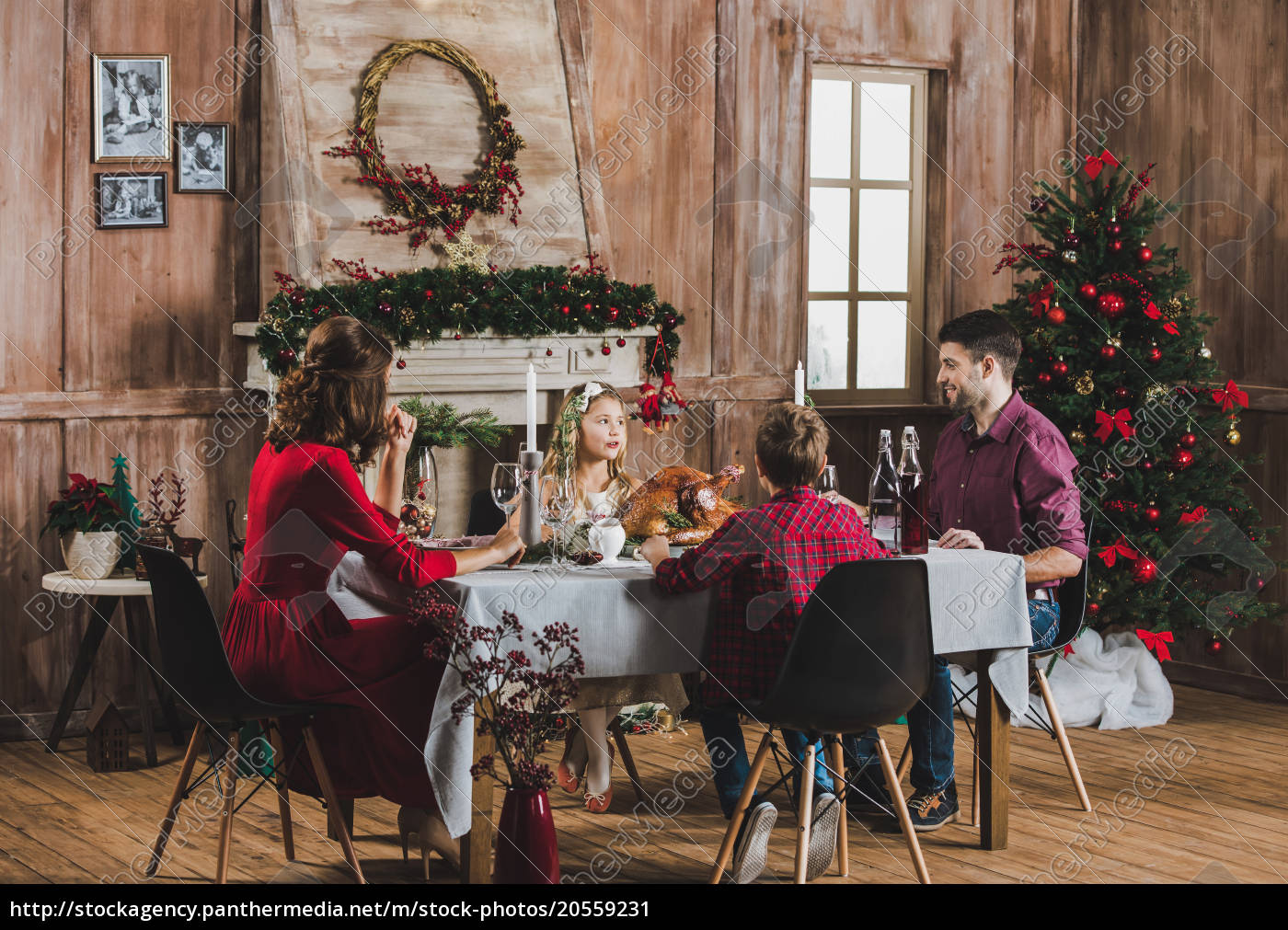 happy, family, at, holiday, table - 20559231