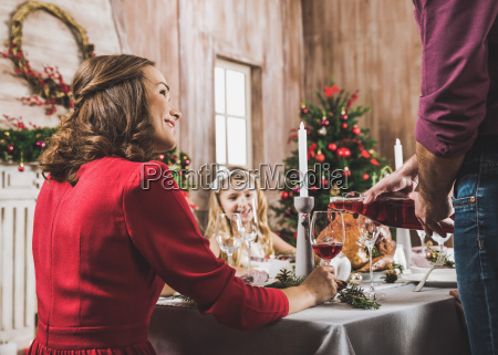 happy, family, at, holiday, table - 20559267