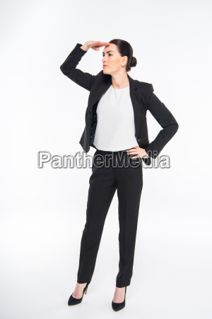 businesswoman, with, hand, on, forehead - 20563103