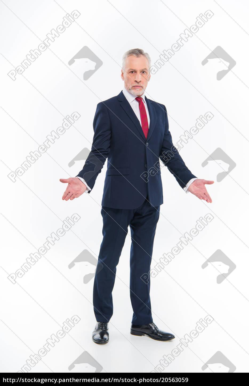 confused, mature, businessman - 20563059