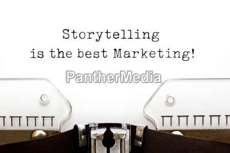 storytelling is the best marketing on