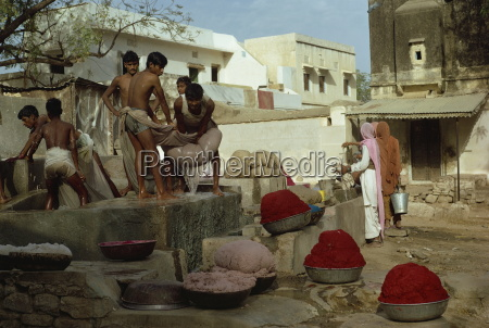 paper making jaipur rajasthan state india