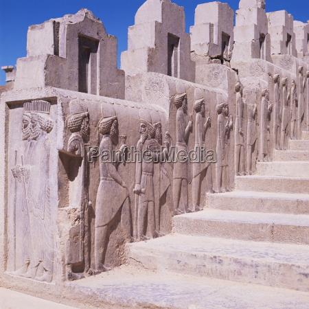 stairway persepolis unesco world heritage site