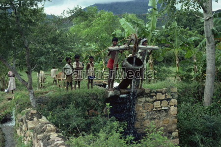 water well tamil nadu state india