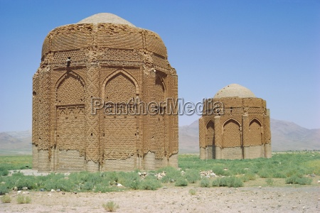 kharraccum tomb towers iran