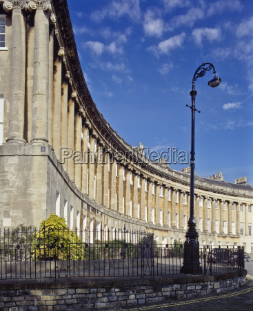 the royal crescent designed by john