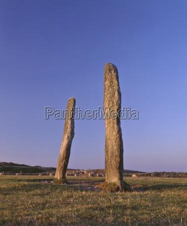 pehos feilw standing stones 3m high