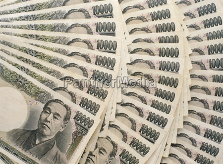 japanese, 10, 000, yen, bank, notes - 20576167