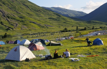 camping glencoe highlands scotland united kingdom