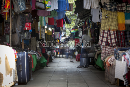 clothing on sale at pettah market