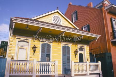 domestic architecture new orleans louisiana united