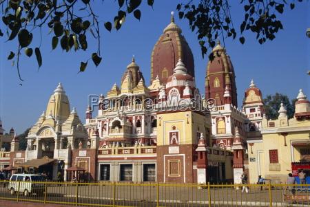 the lakshimi narayan temple dedicated to