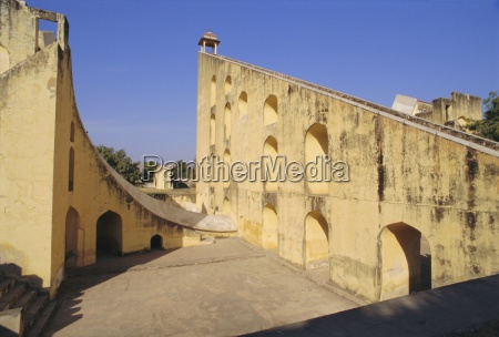 the jantar mantar built in 1728