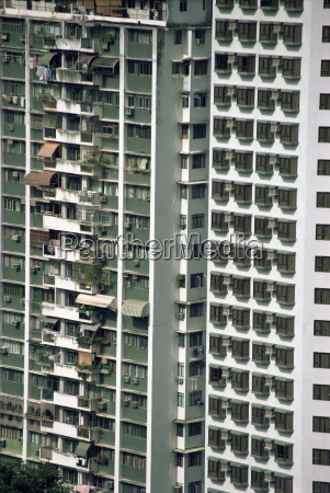 high rise flats in happy valley
