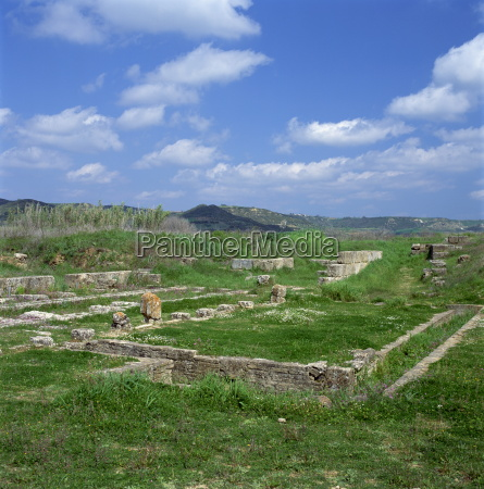 the archaeological site of ancient elis