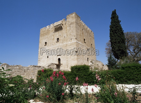 kolossi castle built by the knights