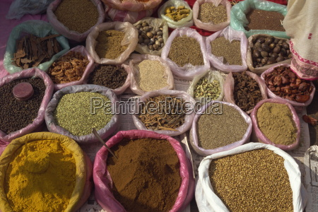spices for sale margao market goa