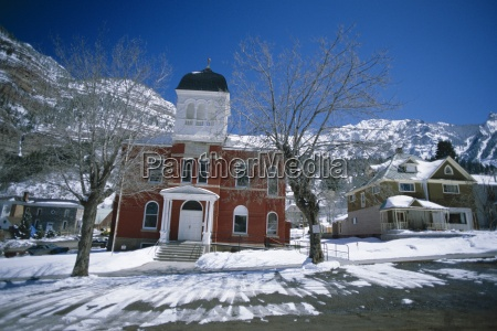 ouray county courthouse dating from 1888