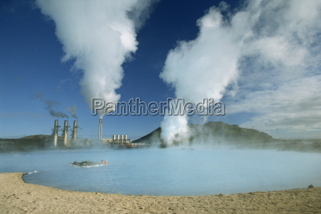 geo thermal power plant in the